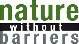 The logo of our project consists of three words: Nature without Barriers.